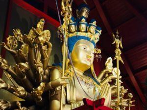 静岡県焼津市の観光スポットは大覺寺焼津千手大観音